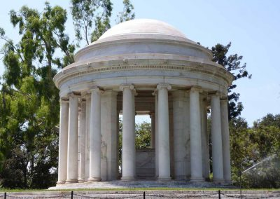 Historic Architecture Conservation Assessment & Treatment — Huntington Mausoleum