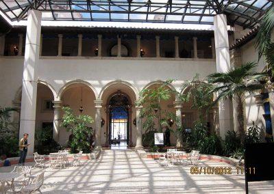 Vizcaya Canopy Installation