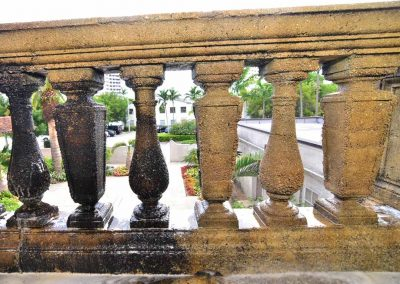 City Hall Balcony<br>(During Treatment)