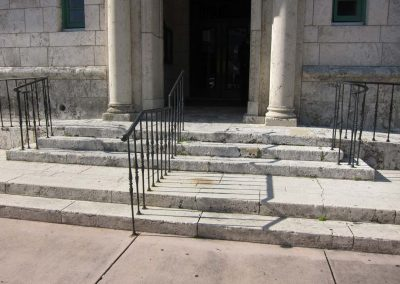 City Hall Steps<br>(Before Treatment)