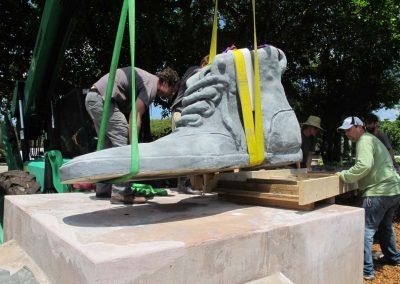 <em>Shoes</em><br> Hector Lombana <br>(install)