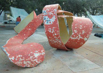 public art installation restoration