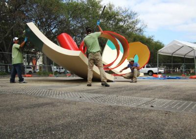 Public Art Conservation — Outdoor Painted Sculpture