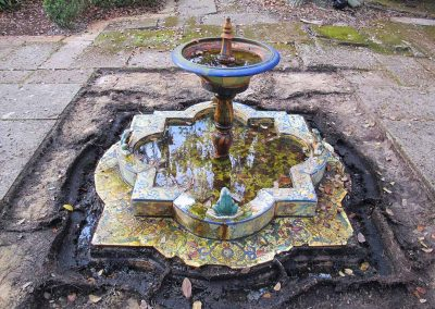 Frog Fountain<br>Before Treatment