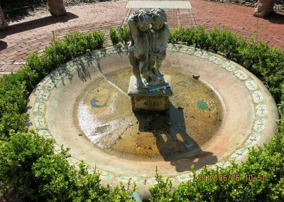 Cummer Museum<br>Cherub Fountain<br>(Before Treatment)