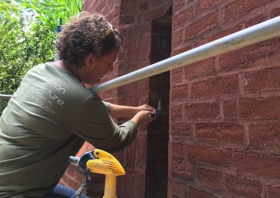 historic brick structure repair