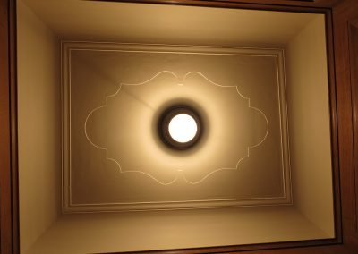 Clark Ceiling<br>(after treatment)