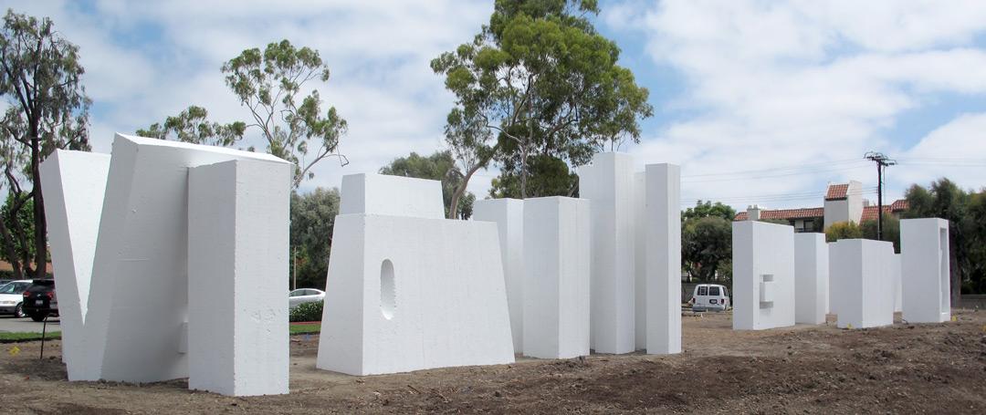 Conservation of Public Art & Monuments—Painted Concrete Sculpture