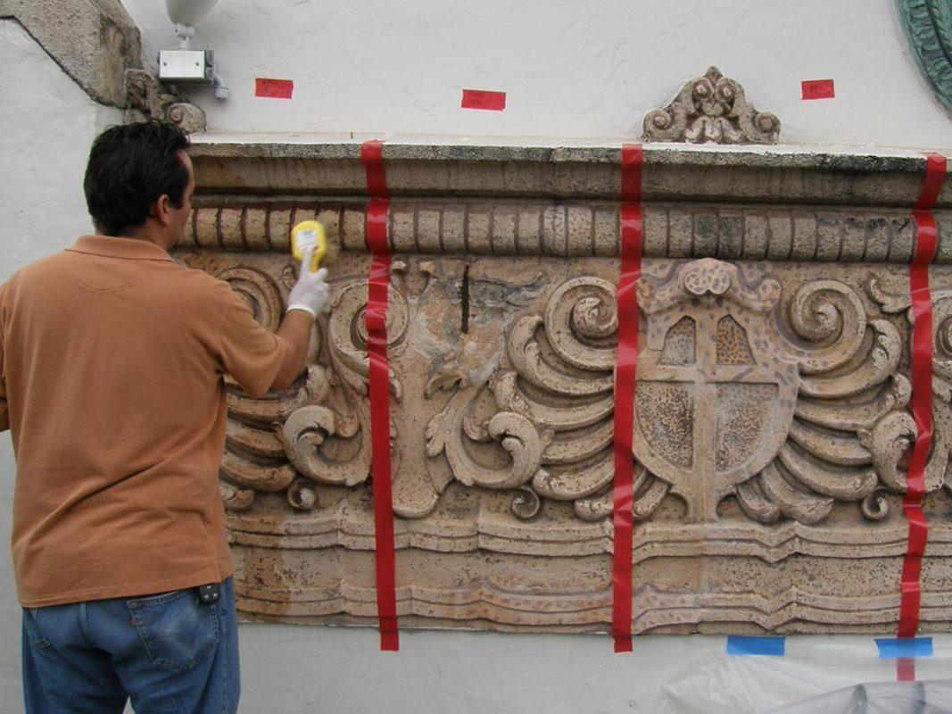 cast stone repair