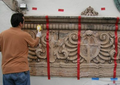 Historical Architecture Conservation—Cast Stone Decorative Frieze