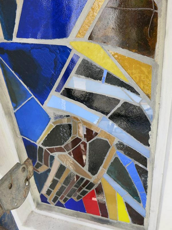 art restoration - stained glass repair — Repair and Conservation of Mosaics & Historical Architecture