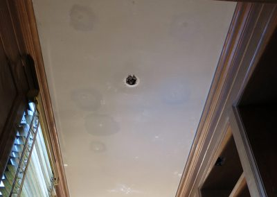 Clark Ceiling<br>(before treatment)