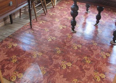 Johnny Cash Home<br>Dining Room Floor<br>(after treatment)