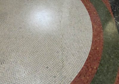 mosaic floor<br>(after treatment)