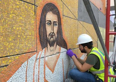 Mosaic Relocation and Restoration