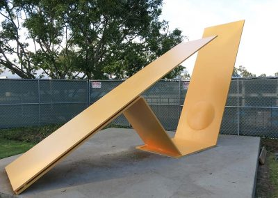 Public Art Conservation of Outdoor Painted Sculpture