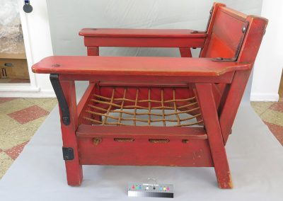 Monterrey Club Chair<br>Will Rogers State Park<br>(After Treatment)