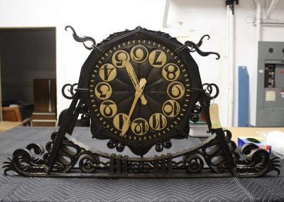 Artifact & Decorative Object Conservation—Dutch Clock