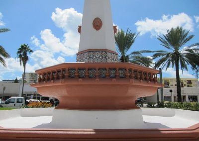 NEWS: Restored Normandy Isle fountain debuts in Miami Beach