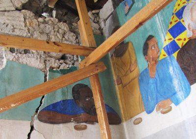 Emergency Services—Salvage of Historic Mural Damaged in an Earthquake