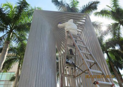 Public Art Conservation — Outdoor Aluminum Sculpture Corrosion Removal