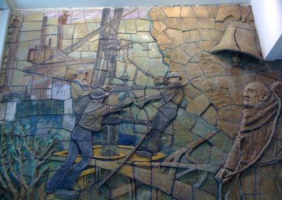 Restoration and Conservation of City of Santa Fe Springs Library Mural