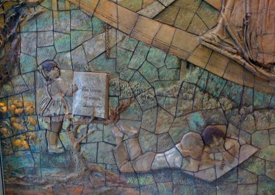 Mosaic & Mural Conservation — Santa Fe Springs City Library