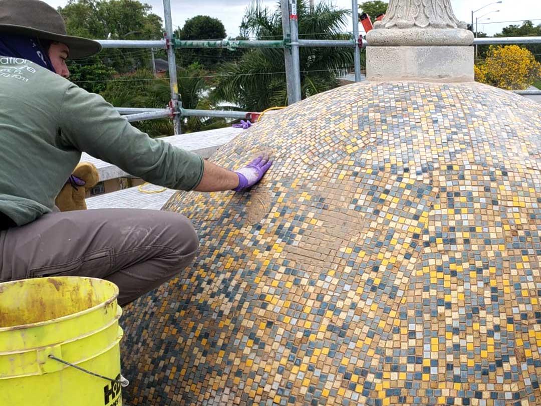 public fountain conservation